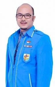 Ketua DPK KNPI Long Iram, Rahmani SKM