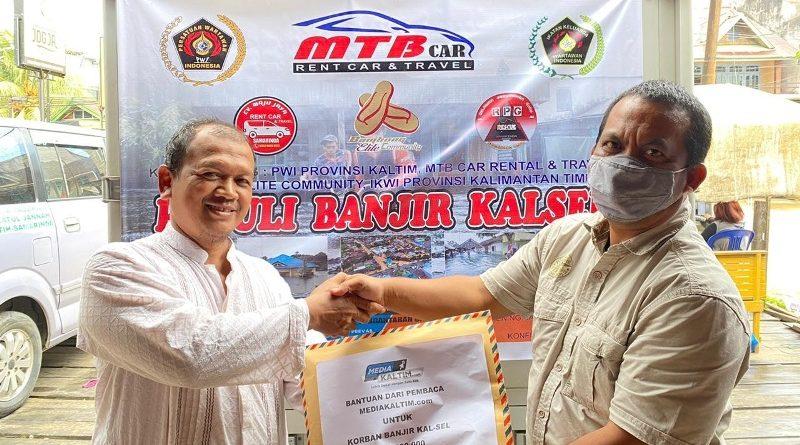 Catatan Perjalanan Mengantarkan Donasi Korban Banjir Bandang Kalsel (1)