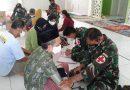 Lagi, TNI-AD Buka Posko Kemanusian Korban Terdampak Banjir di HST