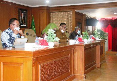 Muliadi Terima Kunjungan DPRD Kabupaten Majene