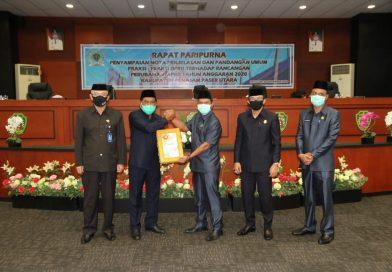 Dewan Usul Delapan Perda Inisiatif