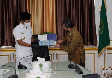 Bupati PPU AGM Menerima Kunjungan Bank Indonesia Perwakilan Balikpapan