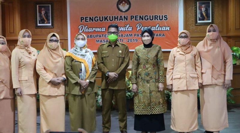 Marhayati Muliadi Pimpin DWP Kabupaten PPU Periode 2019-2024