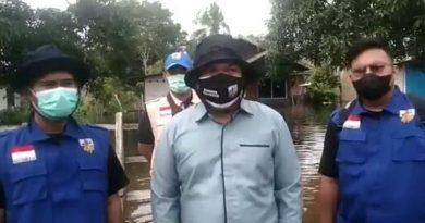 Bersama Pemerintah Kecamatan Samboja KNPI Sigap Untuk 1.830 KK