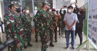 Kasum TNI Tinjau Markas Kogabwilhan II dan Batalion Armed XVIII